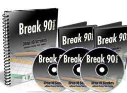 golf strategy how to break 90
